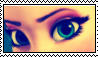 Frozen-Elsa's eyes stamp by Rijogepa