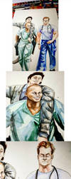 Scrubs - Guy Love (JD, Turk and Dr.Cox) by thalle-my-honey