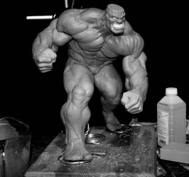 Ironclad Statue WIP by sup3rs3d3d