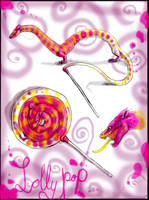lollipop dragon by Anarchpeace