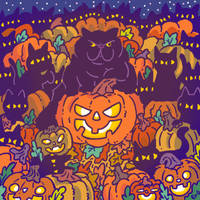 Pumpkin the Cat by ErbMaster