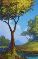 Landscape study 6 by Asimos
