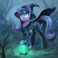 Halloween Glimmer by Asimos