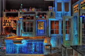 Blue Bar by OldMan1948