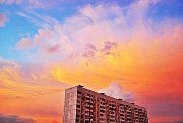 sky is burning. by Vetera