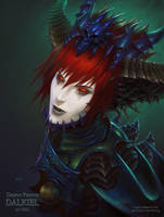 Demon Prince Dalkiel by NRG by NRGart7