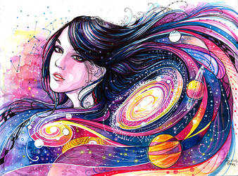 Galaxy by rivyinrivendell