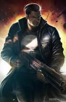 The Punisher by alex-malveda