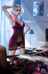 Harley Quinn by alex-malveda