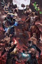 Mortal Kombat by alex-malveda