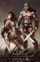 Conan and Sonja by alex-malveda