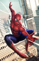 Spiderman by alex-malveda
