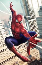 Spiderman by alex-malveda