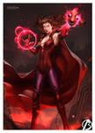 Scarlet Witch by alex-malveda