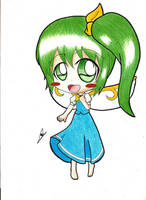 Chibi Daiyousei by maresukemarth