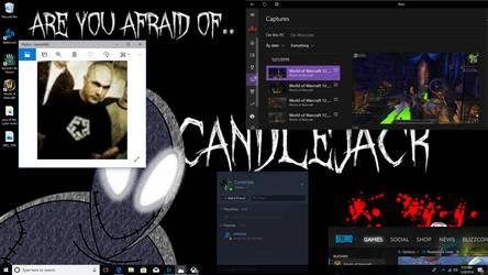 mYy DeSkToPP CanDLe JAckk by spellcaster29