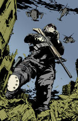 MW2 Comic Book In Color by Aket-Designs