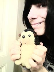 Sadhedgehog and me by Sadhedgehog