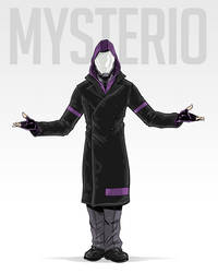 Mysterio Redesign by AdamLimbert