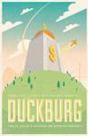Here in, Duckburg by AdamLimbert