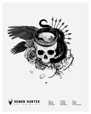 Demon Hunter Print Final Hunt by AdamLimbert