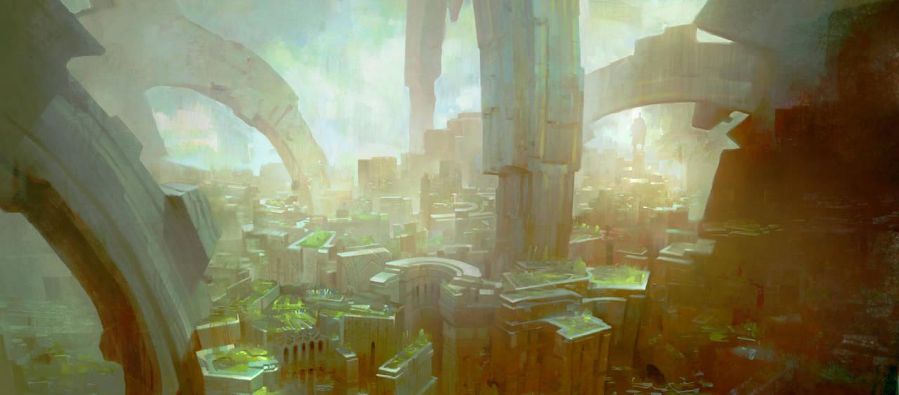 GuildWars2 City by TomScholes