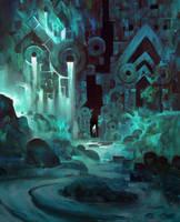 GuildWars 2 Cave by TomScholes