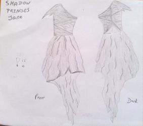 Shadow Princes Jane, Dress by moreofafanficwriter