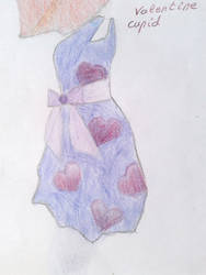 Cupids dress by moreofafanficwriter