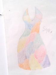 Sophia's dress by moreofafanficwriter