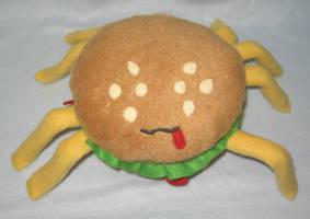 Spider burger by StarshinePlush