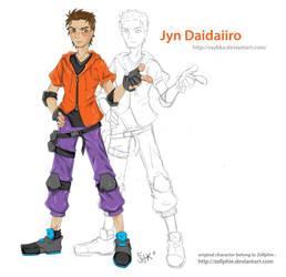 Jyn Daiidaro by Raykka