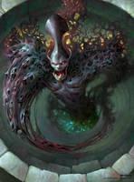 Barr, the evil spirit. by JohnSilva