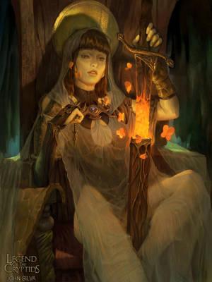 Martial goddess madial (Regular) by JohnSilva