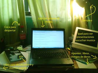 Mi escritorio by BlueNekox3