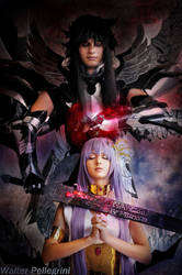 Athena and Hades by SilviaArts