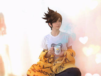 Casual Tracer - Overwatch I by SilviaArts
