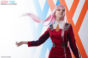 Zero Two - DARLING in the FRANXX I by SilviaArts