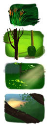 Layout/contrast/colors practice by AsjJohnson