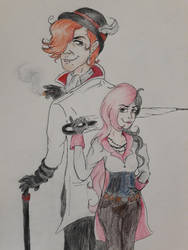 bless roman and neo by ShazBaz579