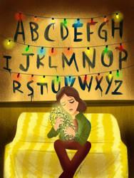 Stranger Things Winona Ryder by supercheyne