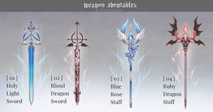 [closed] Weapon Adoptable   Set Price by Black-Quose