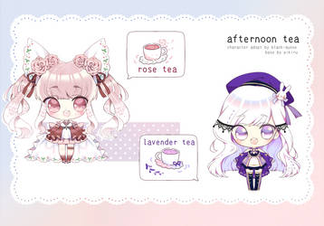 [OPEN] Afternoon Tea Adopt   set price by Black-Quose