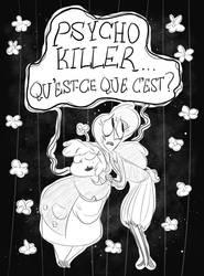 Psycho Killer Sketch by Nightmares4Breakfast