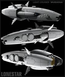 MURAENA light cruiser by NovA29R