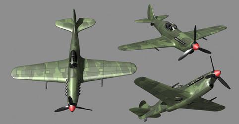 Allied fighter Midge-Mk2b(alternative history) by NovA29R