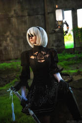 NieR: Automata. 2B Cosplay. by ClaireSea