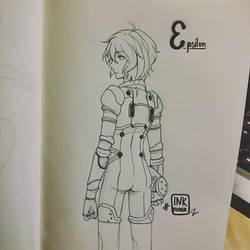 Inktober #12 by Mokota-Yuuago