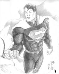 Superman 80th Anniversary by Cyberborg