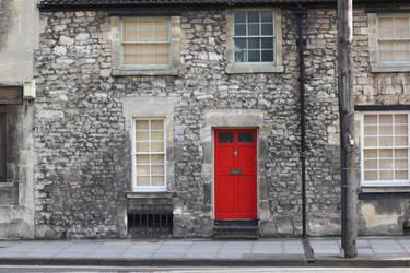 Red door by Aparamita